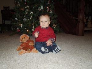 8 months at Christmas